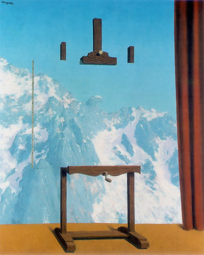 René Magritte - Call of the peaks (1942)